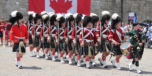 Canada Day Celebrations at the Halifax Citadel National Historic Site