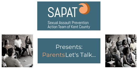 SAPAT Presents: Parents Let's Talk tickets
