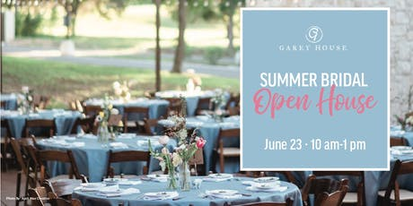 Summer Bridal Open House tickets