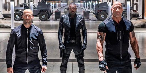 8/1 Hobbs & Shaw Movie Night!