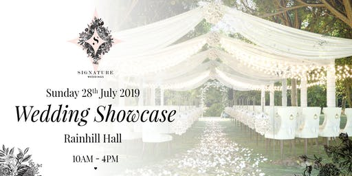 Rainhill Hall Wedding Fayre