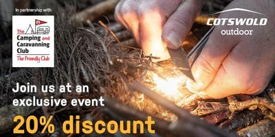 Camping and Caravanning Club Event - Cotswold Outdoor Rushden