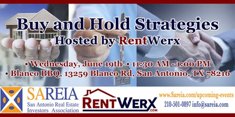 "June ""Buy and Hold Strategies"" with RentWerx tickets"