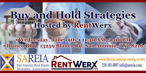 """June """"Buy and Hold Strategies"""" with RentWerx"""