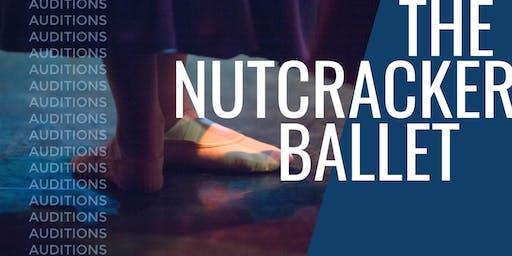 Audition Registration - Ballet Brazos' Nutcracker Ballet
