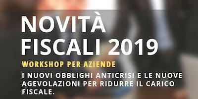 Novità fiscali 2019 - Rimini.