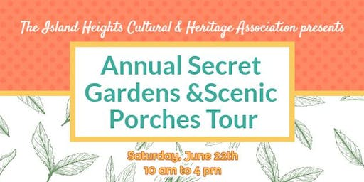 Secret Gardens &Scenic Porches Tour