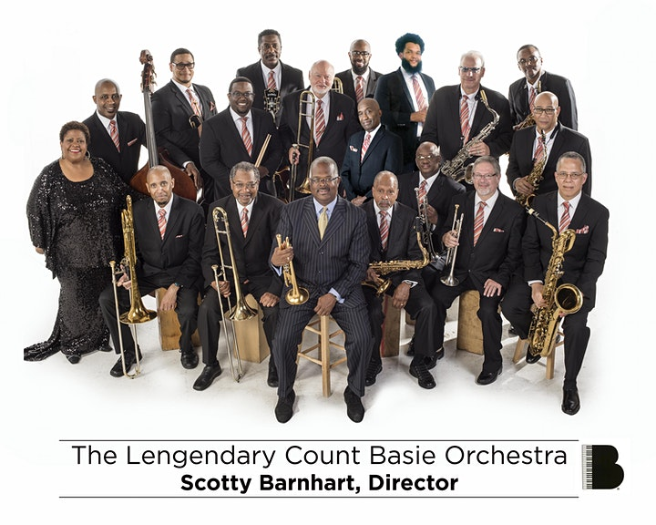 The Legendary Count Basie Orchestra: Directed by Scotty Barnhart image