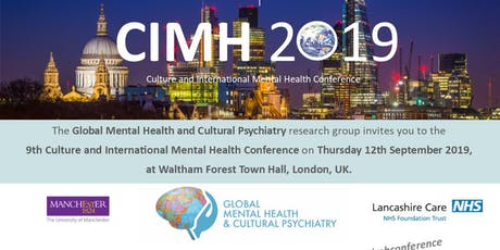 Culture and International Mental Health Conference tickets