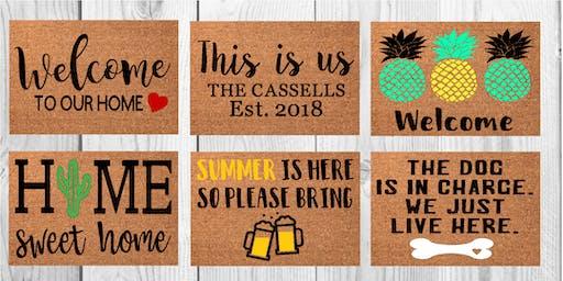 Wyndridge Farm Doormat Workshop