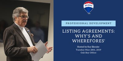 Professional Development - Listing Agreements: The Whys\