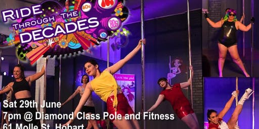 2019 'DECADES  Themed' Diamond Class Student Pole Showcase