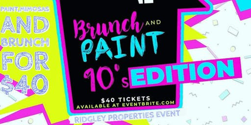 Brunch And Paint 90's Edition