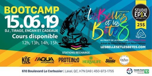 BOOTCAMP POUR LA CAUSE | BOOTCAMP FOR THE CAUSE