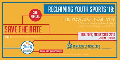 Reclaiming Youth Sports 2019