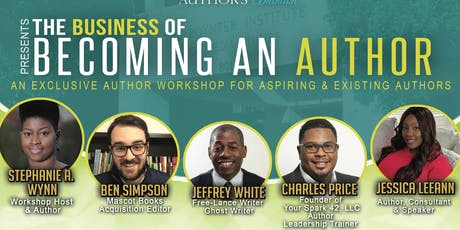 """Author's Ambition Presents """"The Business of Becoming An Author"""" tickets"""