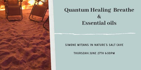 Quantum Healing in Salt Cave tickets