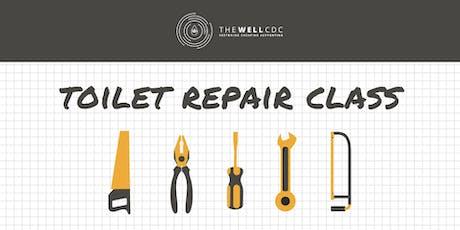 Plumbing Series: Toilet Repair Class tickets