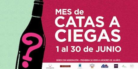 Cata de vinos Catena Zapata  - Mes de Catas a ciegas entradas