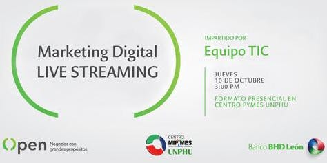 Marketing Digital - Live Streaming