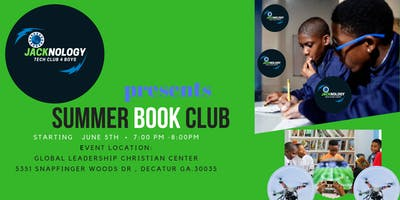 Jacknology Summer Book Club 4 Boys