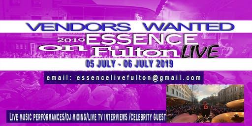 ESSENCE FESTIVAL VENDORS 2019