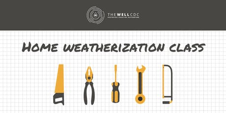 Home Weatherization Class tickets