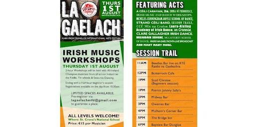 La Gaelach - Traditional Irish Day  (damhsa Gaelach agus ceol Gaelach)