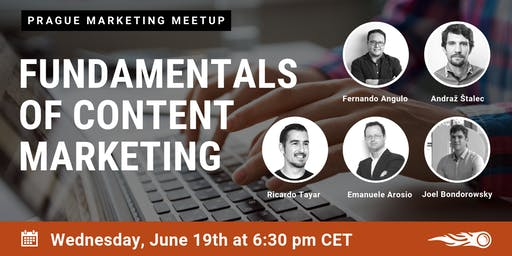 Fundamentals of Content Marketing. SEMrush meet-up in Prague
