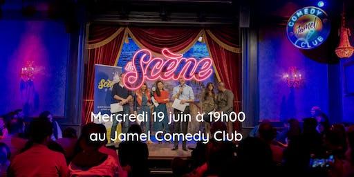 La Scène enflamme le Jamel Comedy Club
