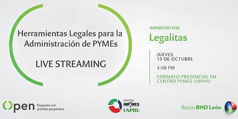 Herramientas Legales para la Administración de Pymes - Live Streaming