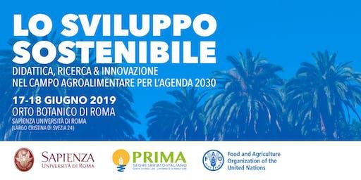 Lo sviluppo sostenibile: didattica, R&I agroalimentare per l'Agenda 2030
