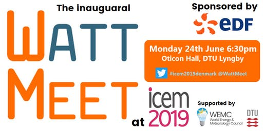 WattMeet (sponsored by EDF) at ICEM2019