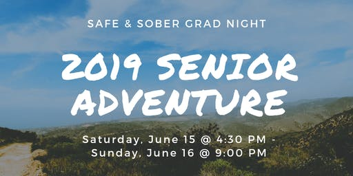 Project Graduation Senior Adventure Trip