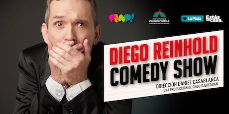 FLAP! Teatro: Comedy Show, Diego Reinhold entradas