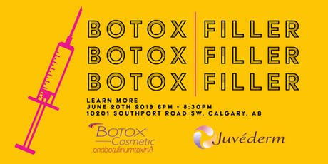 Botox® and Juvéderm® Filler Information Session tickets