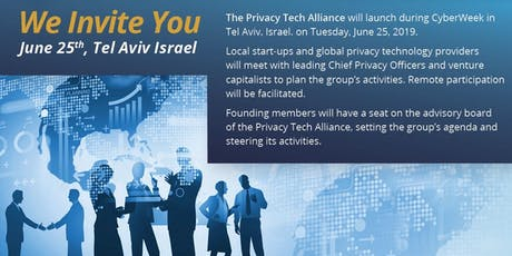 Privacy Tech Alliance - Launch tickets