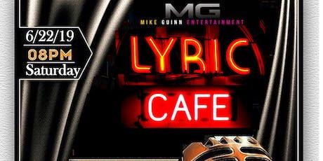 The Lyric Cafe Spokenword & Music Showcase tickets