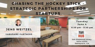 Chasing the Hockey Stick – Strategic Partnerships for Startups