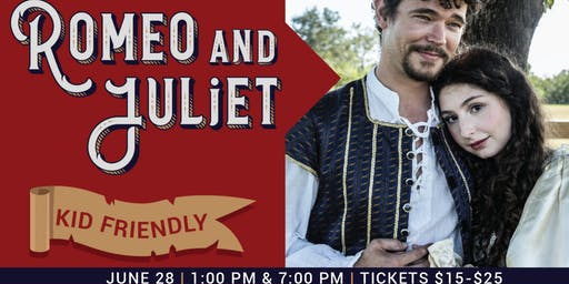 Romeo & Juliet 1-Hour Family-Friendly Performance