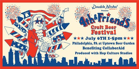 Double Nickel Presents: Fourth & Friends Craft Beer Festival tickets