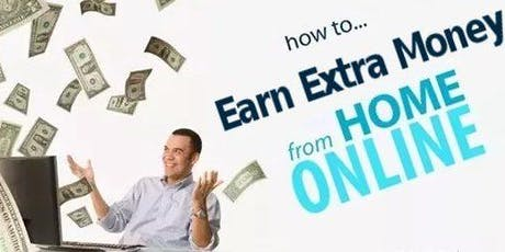 Work At Home: How To Earn Extra Money Online From Home 011 tickets