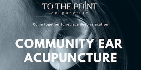 Community Ear Acupuncture  tickets