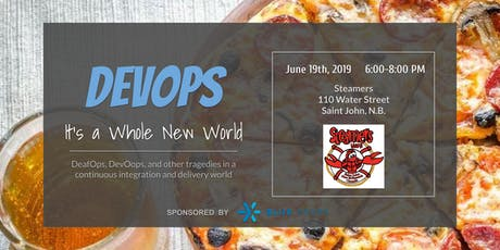 DevOps - It's a Whole New World - Saint John! tickets