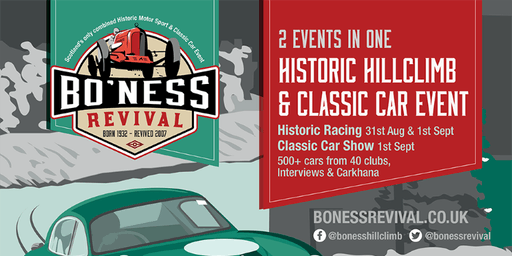 Bo'ness Revival Sunday (Full Classic show,with over 430 cars on display)