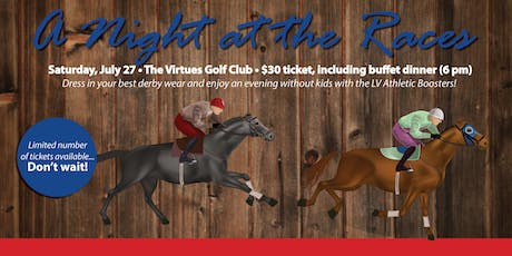 LV's Night at the Races tickets