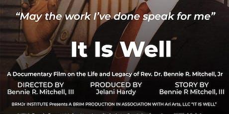 """It Is Well"" Fundraiser  Film Screening - Los Angeles tickets"