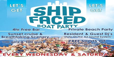 Zante Boat Party - Shipfaced tickets