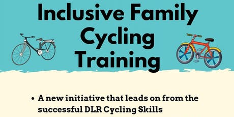 Inclusive Family Cycling Training tickets