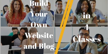 WordPress Training Course: Build Your WP Website in 4 Classes | Starts July 31, 2019 tickets